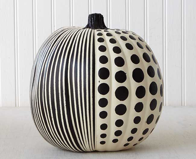 optical illusion pumpkin painting ideas