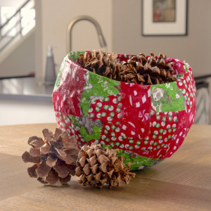 DIY Christmas bowl