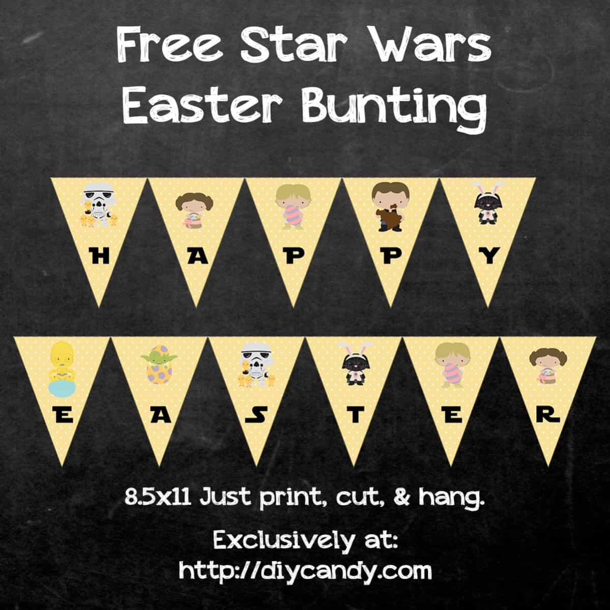 Star Wars Easter Bunting