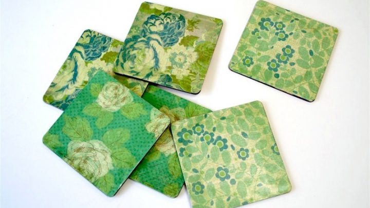 EASY DIY Coasters You Can Make in Minutes! - Mod Podge Rocks