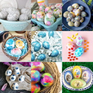 Decoupage Easter Eggs Feature Image