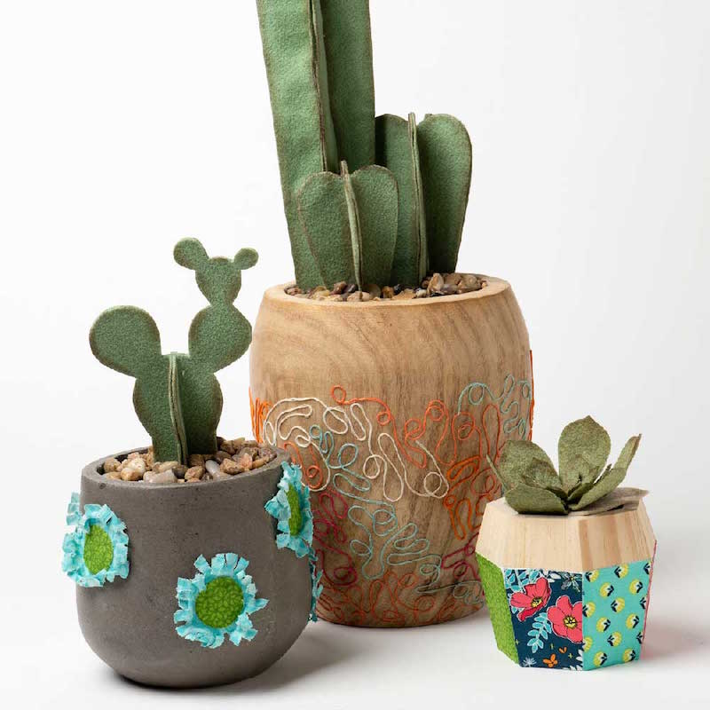 DIY Cactus Planters with Mod Podge Ultra