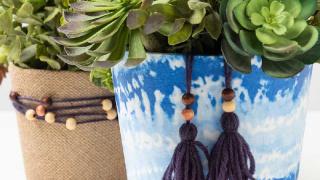 Fabric Plant Holders