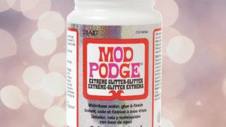 Mod Podge Christmas Crafts square
