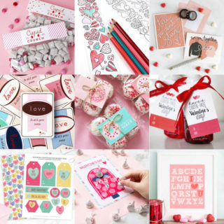 Valentine's Day Printables feature image