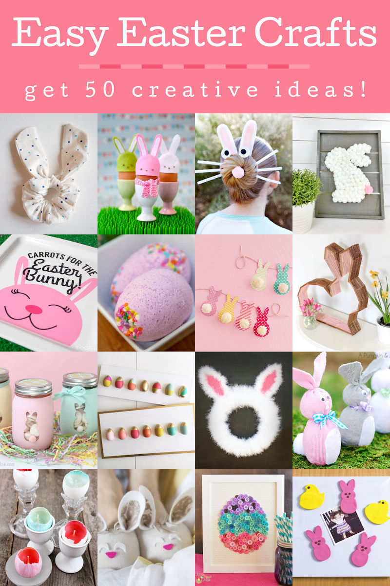 Easy Easter Crafts in an Hour