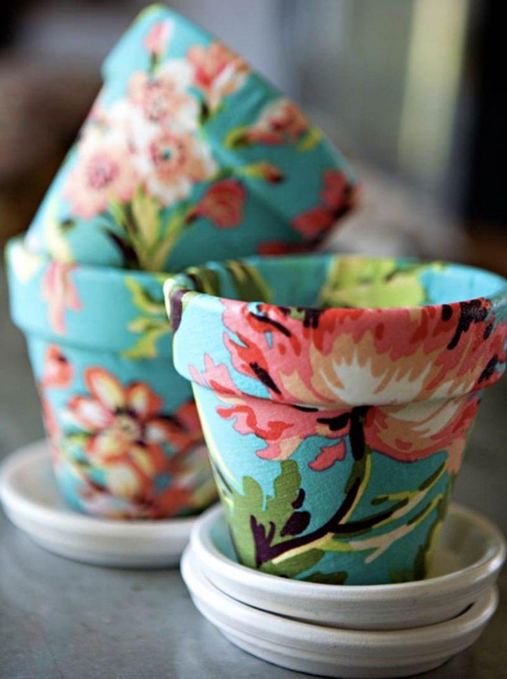 DIY-flower-pot-made-with-Mod-Podge