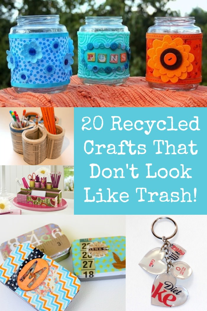 Mod Podge Recycled Crafts That Don't Look Like Trash
