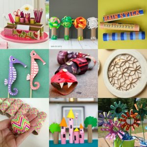 paper towel tube crafts