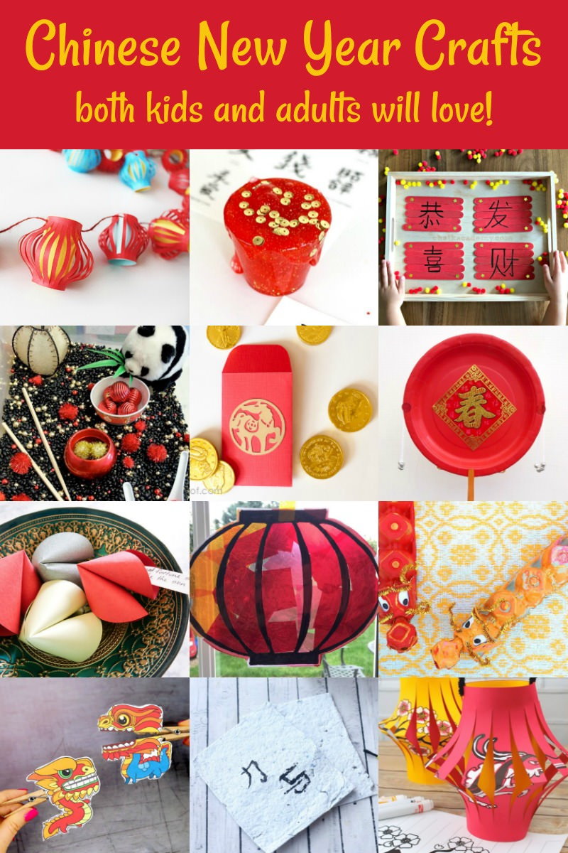 Chinese New Year Crafts for Kids or Adults!
