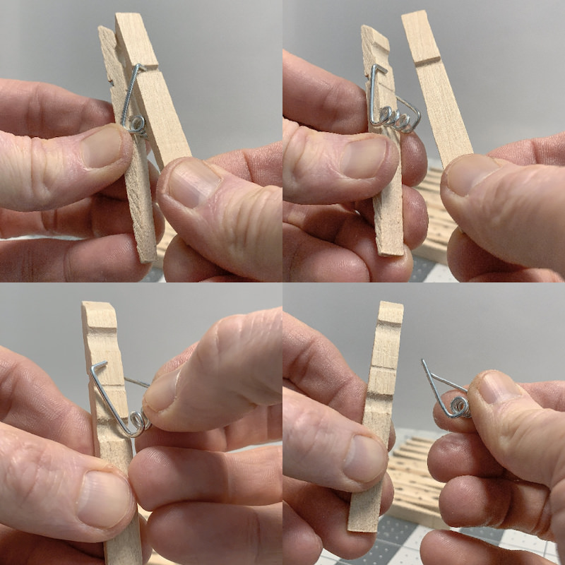 Steps-to-taking-apart-a-clothespin