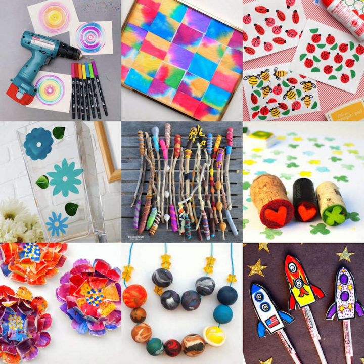 Easy Crafts for Kids Feature Image