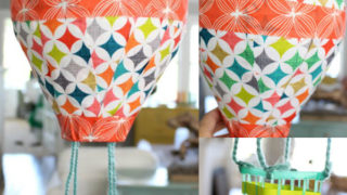 How to make a DIY hot air balloon from a paper lantern