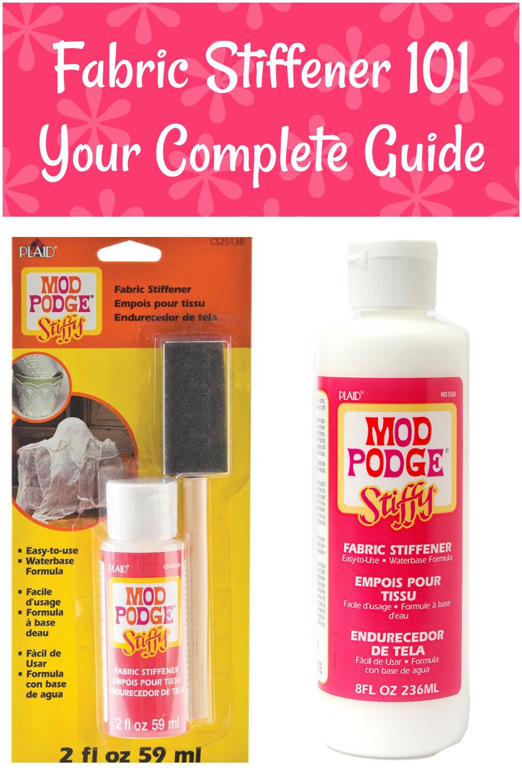 Mod Podge Stiffy Fabric Stiffener