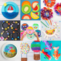 Paper Plate Crafts Feature Image