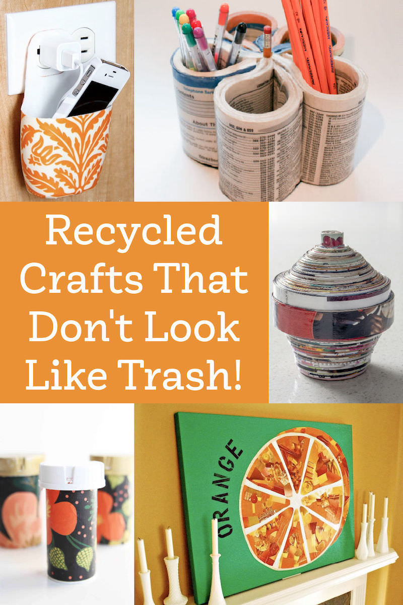 Recycled Crafts That Don't Look Like Trash