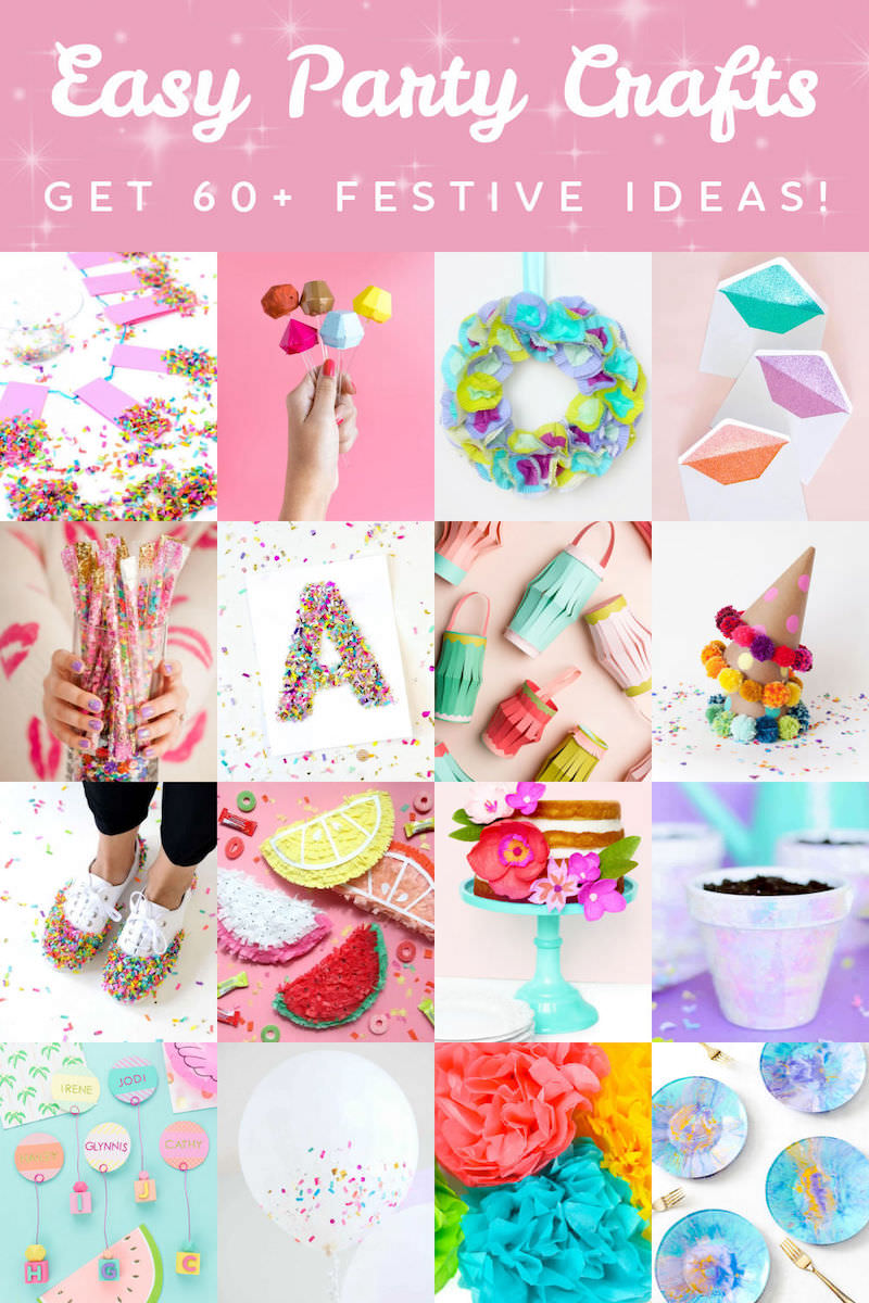 Easy party crafts