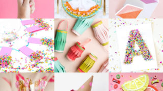 Easy party crafts feature image