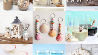 Seashell crafts feature image