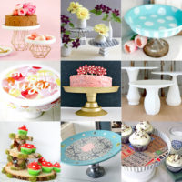 DIY Cake Stands feature image