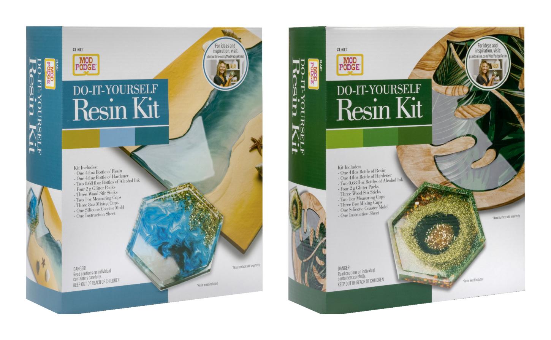 Mod Podge Resin kits