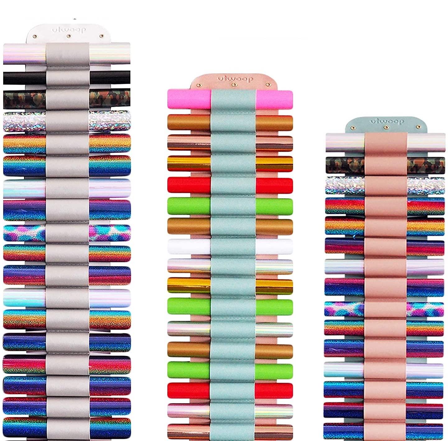 Over the Door Vinyl Roll Storage Rack