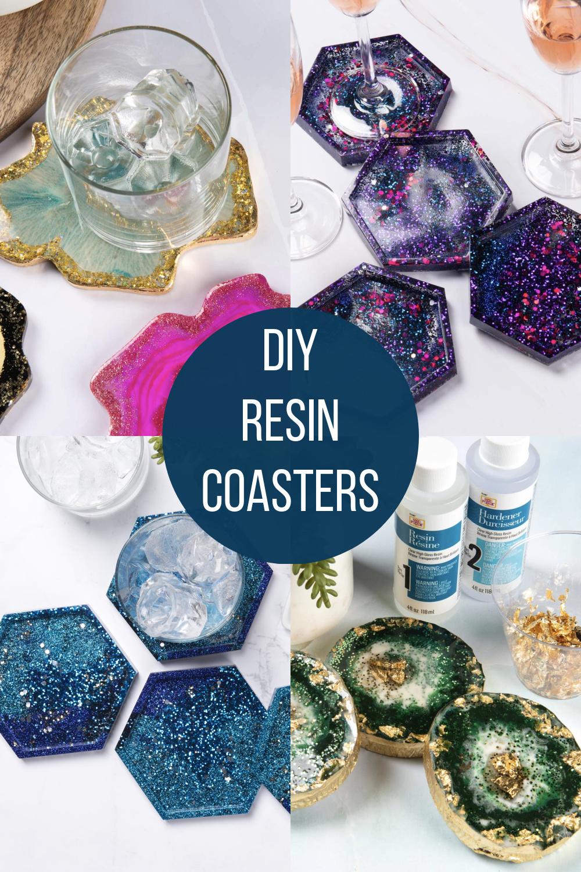 DIY Resin coasters