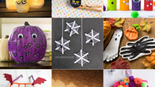 Halloween crafts for kids feature image