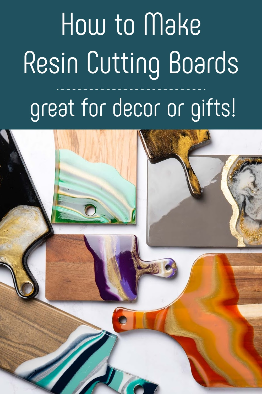 DIY Resin cutting boards