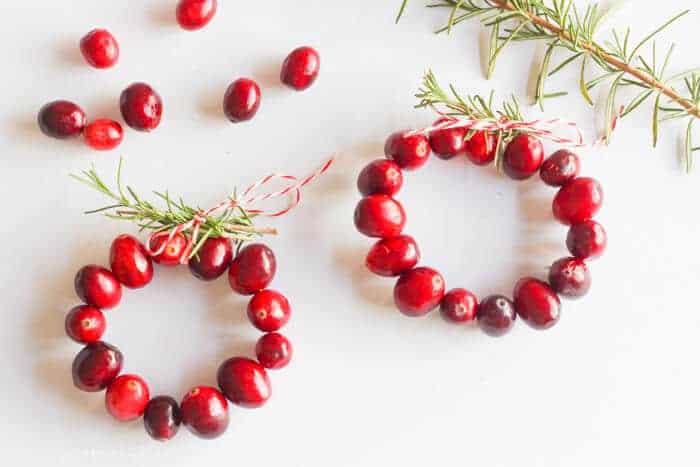 Cranberry Rosemary Napkin Rings 11