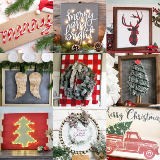 Christmas wall decor feature image