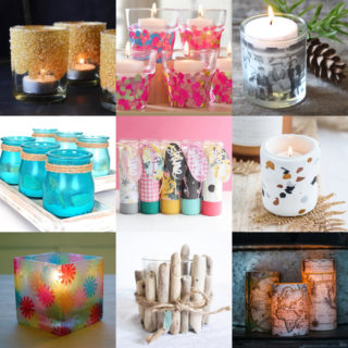 Decorate candle holders feature image
