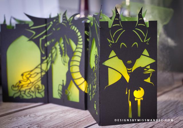 Maleficent Paper Lantern8