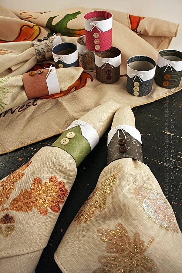 Pilgrim Thanksgiving Napkin Rings