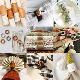 Thanksgiving napkin rings feature image
