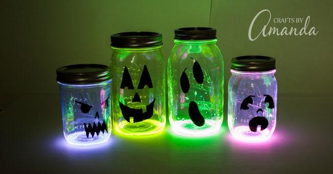 glow stick halloween luminaries FB