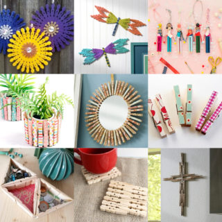 Clothespin craft ideas feature image