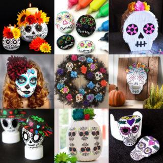 Dia de Los Muertos crafts feature image
