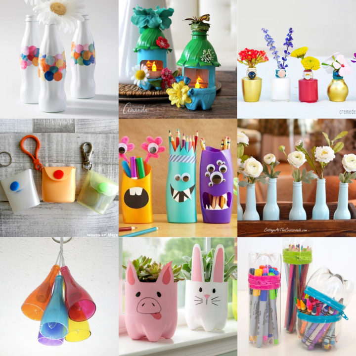Recycled bottle ideas feature image