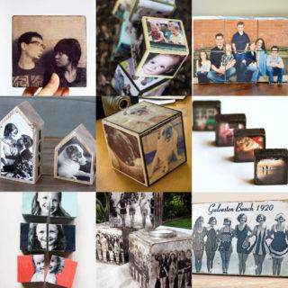 Wooden photo blocks feature image