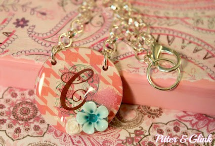 If you have never tried to decoupage jewelry, it's easy and fun! Learn how to create cute necklaces that you'll love to keep AND gift.