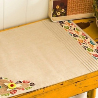 Fabric Appliqué Thanksgiving Placemat
