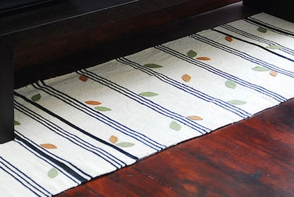 Learn how to turn rugs into a runner